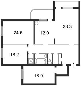 Apartment Staronavodnytska, 4, Kyiv, L-14437 - Photo2