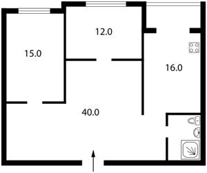 Квартира Лобановского просп. (Краснозвездный просп.), 4б, Киев, Z-985468 - Фото2
