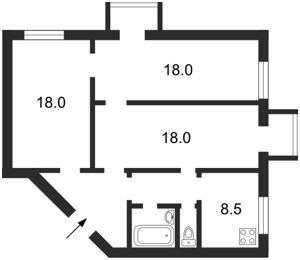 Квартира Зоологическая, 8, Киев, Z-642187 - Фото2