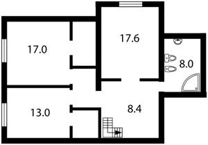 Квартира Азербайджанская, 6, Киев, Z-1014244 - Фото3
