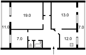 Квартира Володимирська, 12в, Київ, Z-1009813 - Фото2