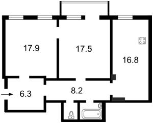Квартира Z-1020769, Большая Васильковская, 14, Киев - Фото 3