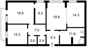 Квартира X-893, Ярославский пер., 7/9, Киев - Фото 3