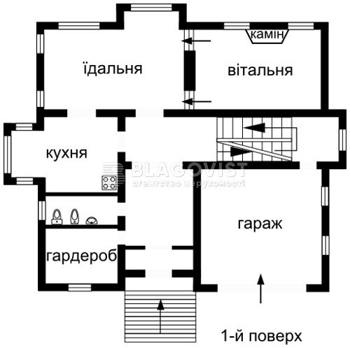 Дом Z-988845, Мощун (Киево-Святошинский) - Фото 5
