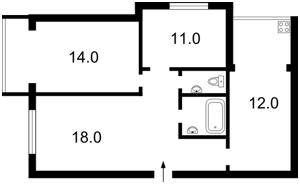 Квартира Антоновича (Горького), 165, Київ, X-1048 - Фото2