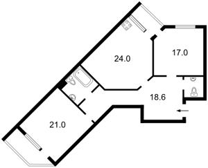 Квартира Голосіївська, 13а, Київ, Z-1055194 - Фото2