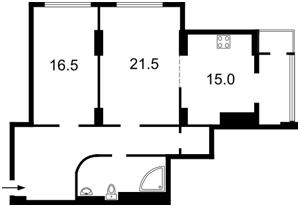Квартира Днепровская наб., 1, Киев, Z-1060253 - Фото2