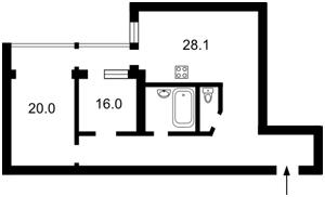 Квартира D-23129, Павловская, 17, Киев - Фото 4