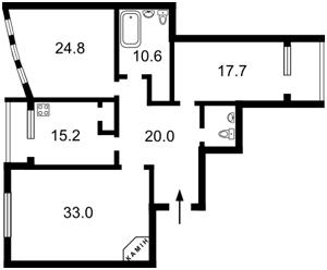 Квартира Лесі Українки бул., 23а, Київ, Z-1066398 - Фото 2