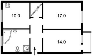 Apartment Instytutska, 22/7, Kyiv, X-1205 - Photo2
