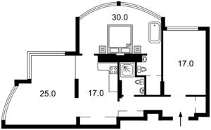 Квартира Науки просп., 69, Киев, E-27939 - Фото 2