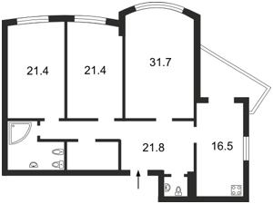 Квартира Героев Сталинграда просп., 12е, Киев, E-28260 - Фото2