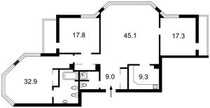 Apartment Klovskyi uzviz, 5, Kyiv, Z-1106003 - Photo2