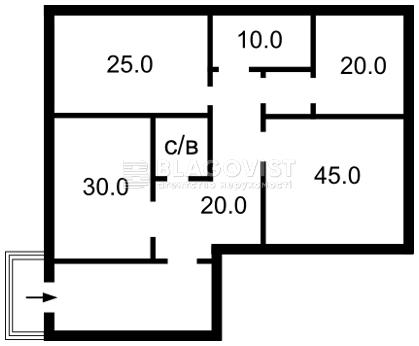 Нежилое помещение, Z-1102303, Краковская, Киев - Фото 4
