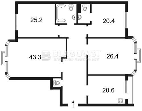Квартира F-27157, Коновальца Евгения (Щорса), 32а, Киев - Фото 5