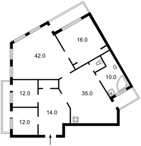 Квартира Обсерваторна, 10, Київ, J-16497 - Фото2