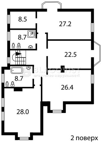 Дом F-25145, Гостомель - Фото 3