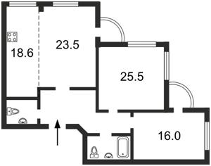 Квартира Чаадаева Петра, 2, Киев, Z-907795 - Фото2
