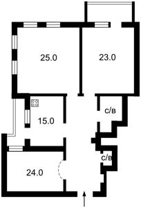 Квартира Голосіївська, 13а, Київ, E-28932 - Фото 2