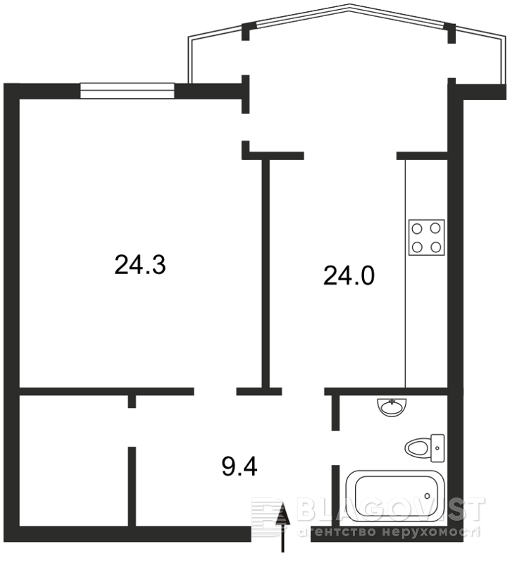 Квартира H-12509, Сечевых Стрельцов (Артема), 52а, Киев - Фото 4