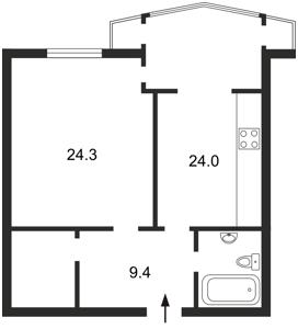 Квартира Сечевых Стрельцов (Артема), 52а, Киев, H-12509 - Фото2