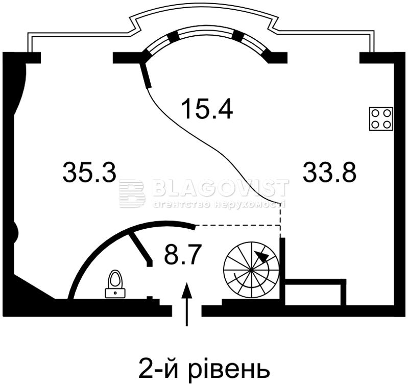 Квартира M-18800, Большая Васильковская, 27, Киев - Фото 3
