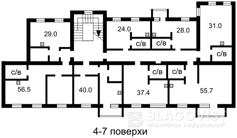 Гостиница, Большая Васильковская, Киев, A-95214 - Фото 4