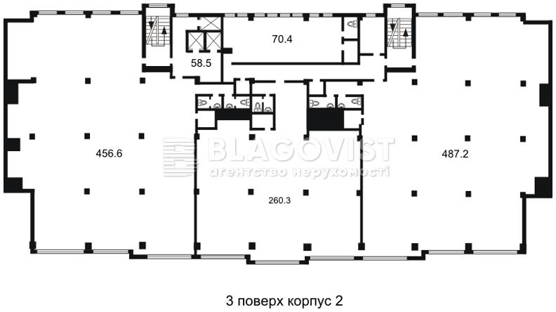 Офис, H-26854, Гавела Вацлава бульв. (Лепсе Ивана), Киев - Фото 4
