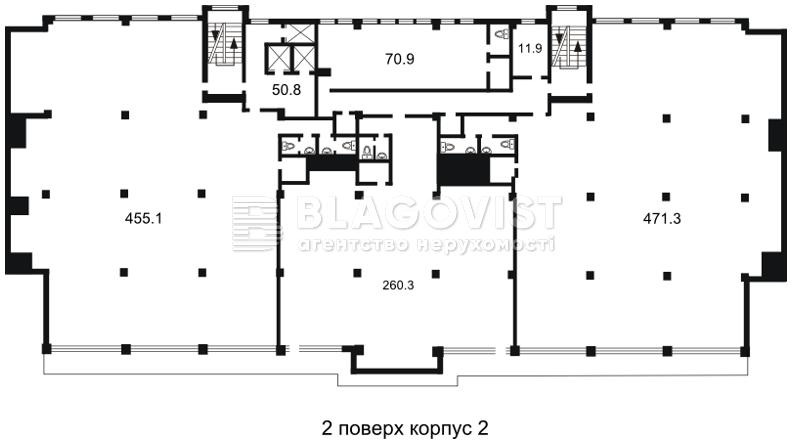 Офис, H-26858, Гавела Вацлава бульв. (Лепсе Ивана), Киев - Фото 4