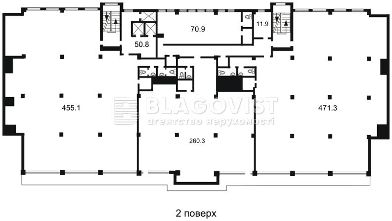 Офис, H-26863, Гавела Вацлава бульв. (Лепсе Ивана), Киев - Фото 5