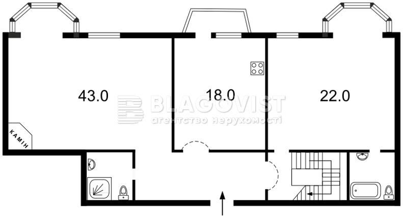 Квартира G-24641, Волошская, 51/27, Киев - Фото 3