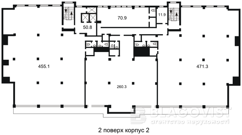 Офис, H-26865, Гавела Вацлава бульв. (Лепсе Ивана), Киев - Фото 5