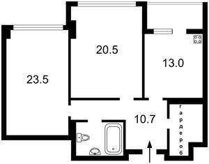 Квартира F-25883, Драгомирова Михаила, 14, Киев - Фото 4