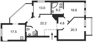 Квартира Шота Руставели, 20б, Киев, A-95227 - Фото2