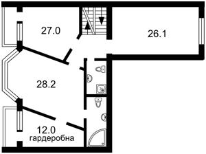 Квартира Введенская, 29/58, Киев, R-14495 - Фото 3