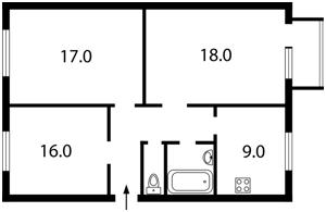 Квартира Рогозовская, 1, Киев, Z-1062954 - Фото2