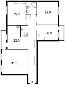 Квартира Героев Сталинграда просп., 8 корпус 4, Киев, Z-1153471 - Фото2