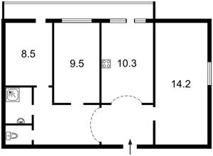 Квартира Перова бул., 54, Київ, Z-1151547 - Фото 2