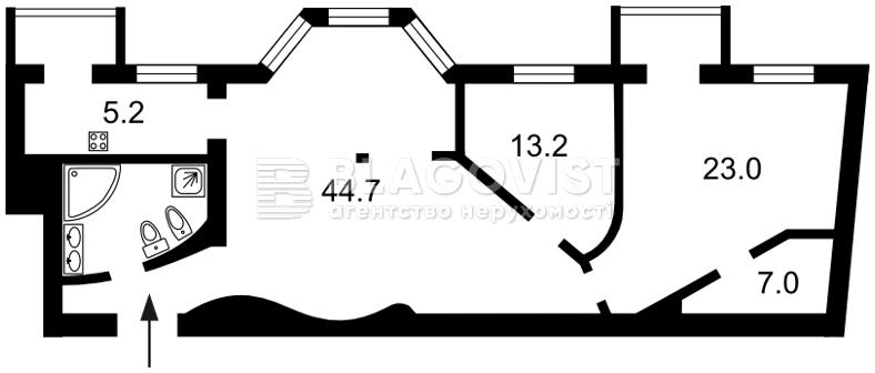 Квартира F-25506, Крещатик, 15, Киев - Фото 6