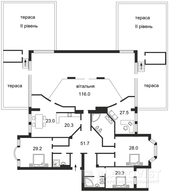 Квартира H-12557, Грушевского Михаила, 9а, Киев - Фото 5