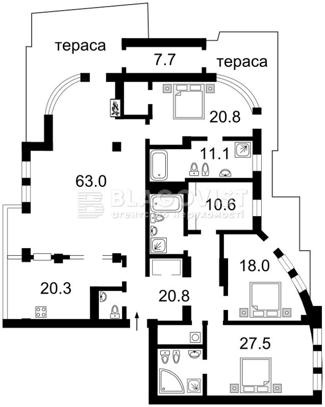 Квартира F-23074, Золотоворотская, 13, Киев - Фото 2