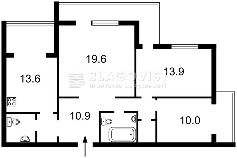 Квартира M-15810, Науки просп., 94/5, Київ - Фото 3