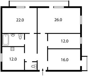 Квартира Победы просп., 43, Киев, Z-1143327 - Фото2