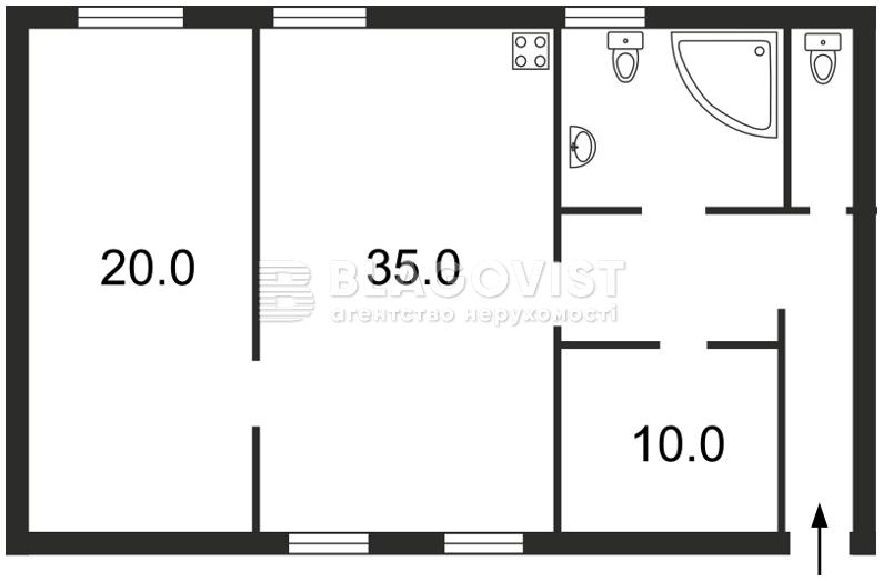 Квартира F-10354, Михайловский пер., 14, Киев - Фото 2