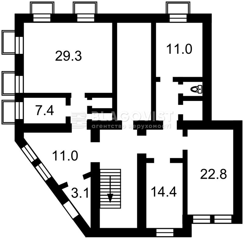Нежилое помещение, P-7793, Десятинная, Киев - Фото 4
