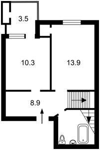 Квартира Лобановського просп. (Червонозоряний просп.), 130, Київ, Z-1126539 - Фото2