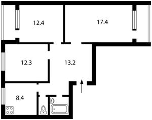 Квартира Z-1150363, Харьковское шоссе, 154а, Киев - Фото 3