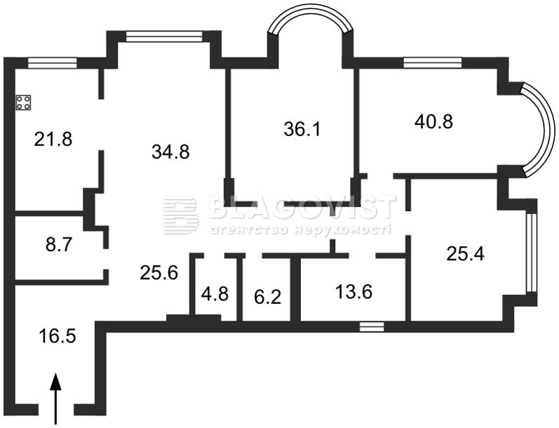 Квартира M-20931, Институтская, 18а, Киев - Фото 5