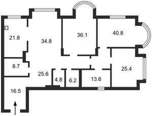 Квартира Институтская, 18а, Киев, M-20931 - Фото2