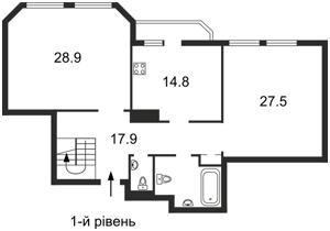 Квартира Коновальца Евгения (Щорса), 32б, Киев, E-29801 - Фото2